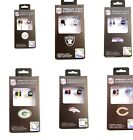 NFL Mini Earbuds Earphones with team logo ihip Assorted-Teams Brand New