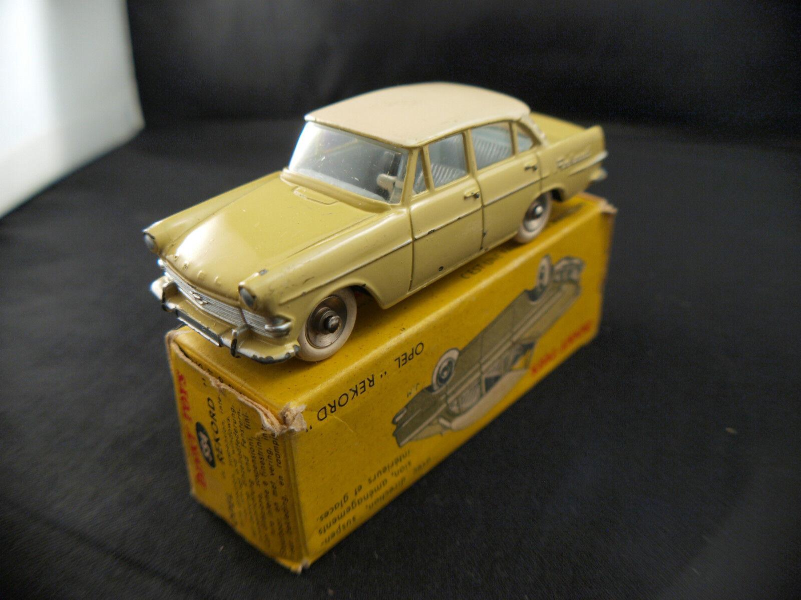Dinky Juguetes F n° 554 Opel Rekord en boite
