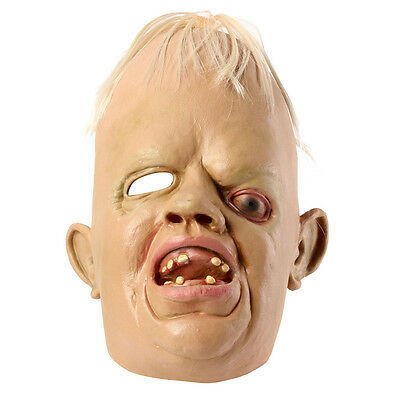 Realistic Man Alien Head Mask Latex Creepy Costume Party Cosplay Halloween Gift