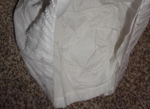 Cherokee Toddler Girls Whtie Dress Chenille Dots Sleeveless 18 Months New