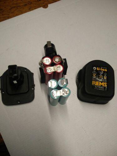 1 bloc accus li ion pour batterie  REMS 14,4 v (akku bateria battery )