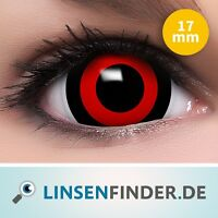 Mini Sclera Lenses tokyo Ghoul Rote Kontaktlinsen Cosplay Sharingan Linsen