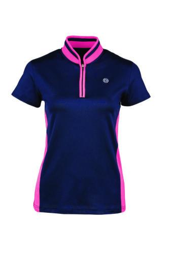Dublin Shadowfax Comfort Dry Technology Short Sleeve Zip Thru Shirt