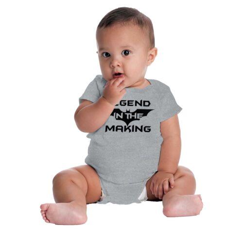 Legend In Making Funny Comic Book Nerd Gift Infant Gerber Onesie Baby Bodysuit