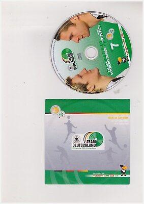 1 Cdr Dfb Collection Team Deutschland 2006. Nr. 7: Schweinsteiger/friedrich