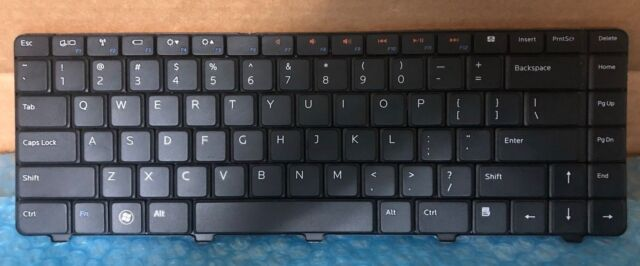 New US Keyboard For Dell Inspiron 14R N4010 N4030 15R N5030 M5030 Laptop Replacement Keyboard