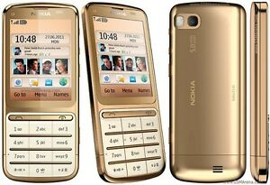 nokia c3 01 gold edition unlocked c series cellular phone ebay rh ebay com nokia c3-01 user guide Preturi Nokia C3-01