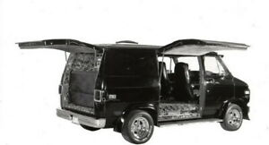 71 03 Dodge Van Showcars Fiberglass Side Gull Wing Door Ebay