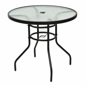 Image Is Loading 31 5 034 Outdoor Round Patio Deck Tempered