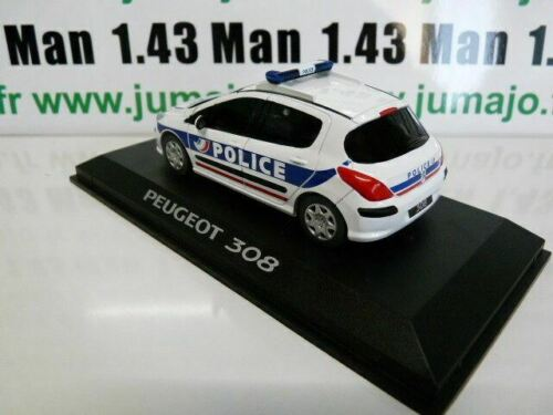 PEUGEOT 308 Police PE22A VOITURE 1//43 PROVENCE MOULAGE
