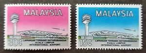 [SJ] Opening International Airport KL Malaysia 1965 Airplane Aviation (stamp MNH