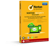 NORTON  SECURITY 3.0 2017 1-Gerät / 1-Jahr PC/Mac/Handy/Tablet [Upgrade 2018]