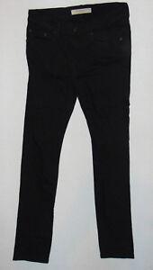 Détails sur BURBERRY BRIT jeans W30 L32 homme noir coupe slim stretch denim jeans afficher le titre d'origine