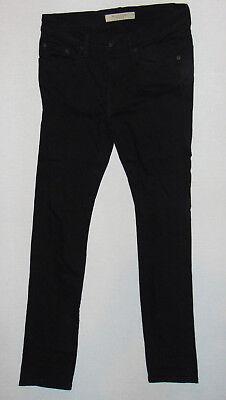 BURBERRY BRIT jeans W30 L32 homme noir coupe slim stretch denim jeans | eBay