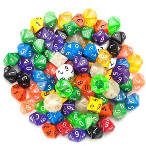 4Pcs-Transparent-Dice-10-Sided-Gem-Dice-Multicolor-Playing-Games-Color-RandomVX