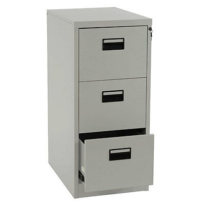 Hängeregisterschrank Preston T240, Aktenschrank Büroschrank, 103x46x62cm grau