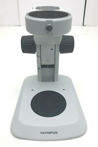 Olympus-SZ2-ST-Stereo-Microscope-Standard-Base-Stand-Preowned-Nice