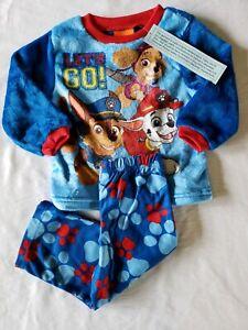 NWT-Boy-039-s-Size-2T-Paw-Patrol-Nickelodeon-2-Piece-Pajama-Set