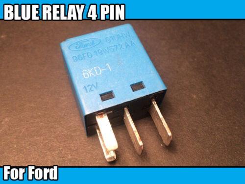 Blue Relay Electrical Component For Ford 96Fg19W572Aa Power Plug Pins 4