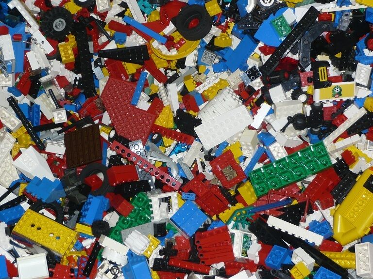 (/kg) 4 kg LEGO ® ® ® environ 2800 pièces pierres Plaques Spéciales Pièces LEGO kiloware 4be977