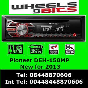 PIONEER-DEH-150MP-radio-de-voiture-CD-MP3-STEREO-AVANT-AUX-IN-Lecteur-Lumiere