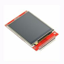 Loyal 240x320 2.4 Spi Tft Lcd Touch Panel Serial Port Module With Pbc Ili9341 3.3v 2.4 Inch Spi Serial White Led Display Electronic Components & Supplies