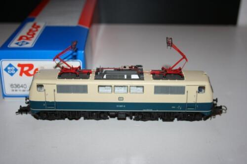 1 von 1 - Roco Spur H0: 63640 Elektrolokomotive BR 111 087-3 der DB, OVP