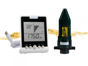 Fuellstandsanzeige-Heizoel-EcoMeter-Heizoel-Tankanzeige-mit-separatem-Funk-Display