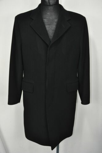 Yves Saint Laurent  Long Wool Mens Coat 48