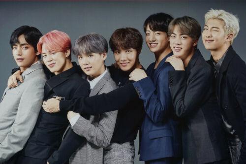 BTS 2019 K-Pop Bangtan Boys Jin Suga J-Hope Jungkook Music Poster 24X36   BT19