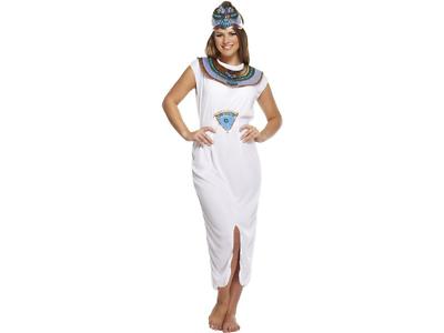 Obbiettivo Donna Regina Del Nilo Cleopatra Egiziana Princess Costume-mostra Il Titolo Originale