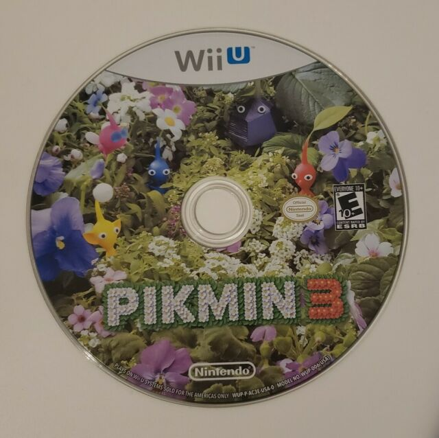 Pikmin 3 (Nintendo Wii U, 2013). Tested. Disc Only