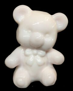 Boyd-Art-Glass-Fuzzy-Bear-Cashmere-Pink-First-In-Retired-Series-Made-Once-A-Year