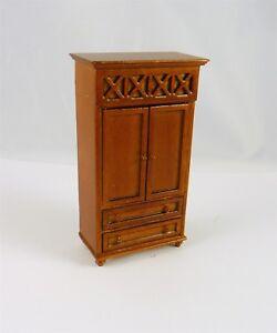 Dollhouse Miniature HALF SCALE 1:24 Spice Armoire, A210.5