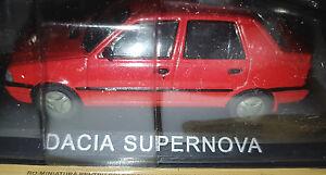 Dacia-SuperNova-Rossa-Scala-1-43-DeAgostini-Nuova