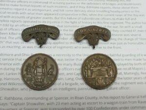 Pair of Civil War 6th West Virginia Infantry Medals (Death by Disease & Honorabl