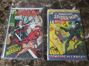 Marvel-Amazing-Spider-Man-101-amp-102-1971-1st-2nd-Appearance-Morbius