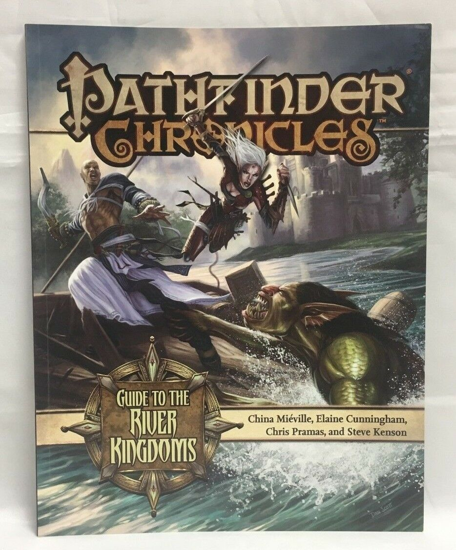 Pathfinder Chronicles Guida To The River Regni 3.5 Rpg Libro