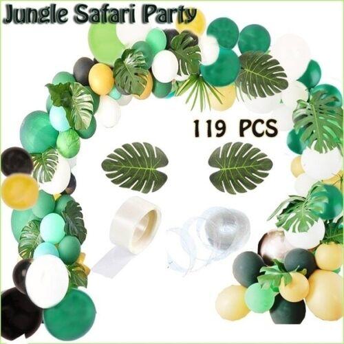 119PCS Balloon Arch Garland Jungle Safari Christmas Supplies Wedding Birthday