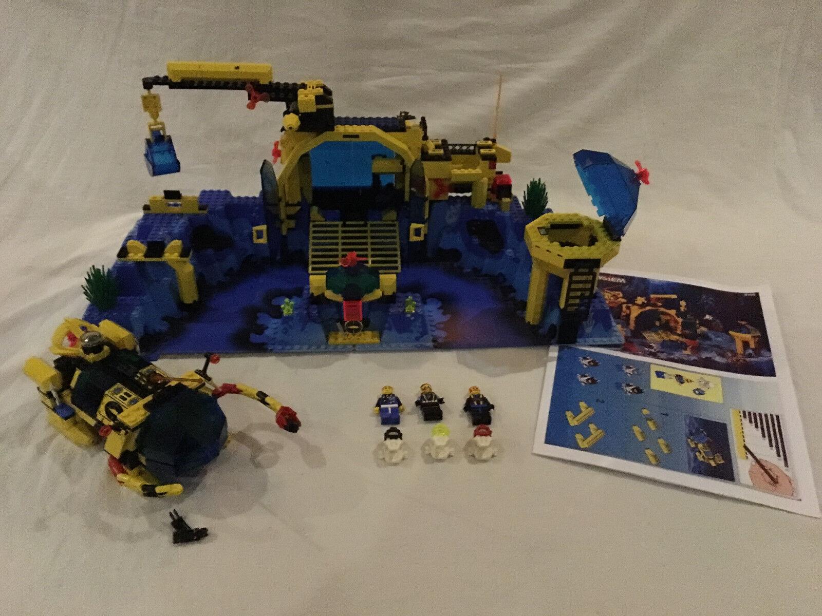 LEGO System 6195 große Aquanauts Neptune Discovery Unterwasserstation TOP