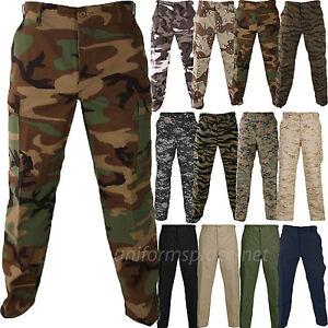 moderate cost discover latest trends buying now Details about Propper Pants Mens BDU Tactical Pant Genuine Gear Zipper Fly  Ripstop Camo Colors