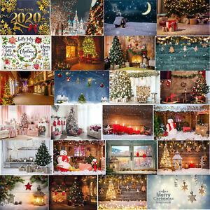 Details zu Christmas Street Photography Background Cloth Backdrop Video  Studio Photo Decor