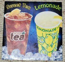 2 Lemonade Sweet Tea Food Truck Concession Vinyl Sticker Decal As Shown