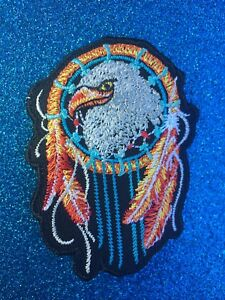 American-Eagle-Dream-catcher-Indian-Festival-Hippie-Iron-ON-Sew-Patch-Clothing