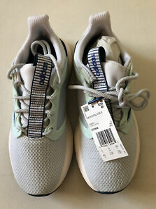 Details about adidas Energy Falcon X Women's Running Shoes, White, Blue, Mint Green Size 6.5
