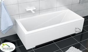 badewanne rechteck wanne 120 130 140 150 160 170 x 70 cm ohne mit sch rze ablauf ebay. Black Bedroom Furniture Sets. Home Design Ideas