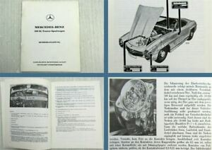 Mercedes-Benz-300SL-Roadster-W198-II-Betriebsanleitung-Stand-1959-Ausgabe-1985
