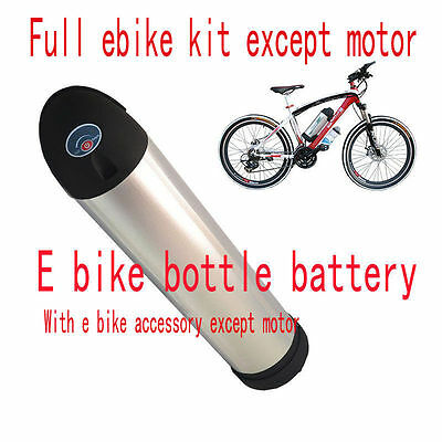 E bike battery Kit  electric bicycle battery bottle 36V 10.4AH W SAMSUNG cells