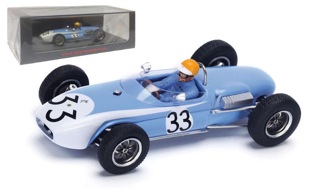 Spark S4821 Lotus 18 Alemán GP 1961-Tony Maggs Escala