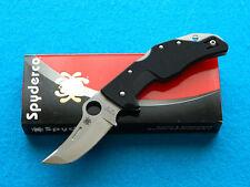 Spyderco Battlestation Folding Knife! Tactical Style Folder w/ VG-10 & G-10!